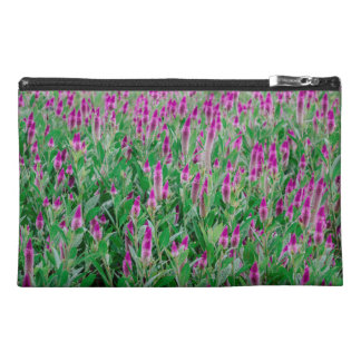 Celosia Flower Field Travel Accessory Bag