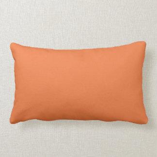 Celosia Orange Color Trend Blank Template Pillow