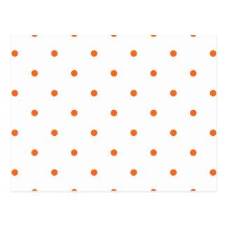 Celosia Orange Polkadots Small.png Postcard