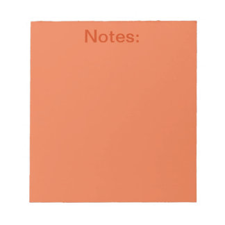 Celosia Orange Products Notepad