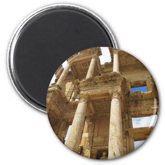 Celsius Library, famous  Roman building - Ephesus Magnet