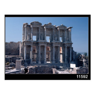 Celsus Library, built in AD 135 Postcard
