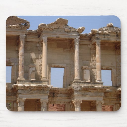 Celsus Library Facade, Ephesus Mouse Pad