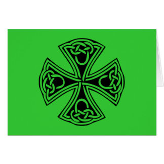 celt_cross greeting cards