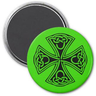 celt_cross imán redondo 7 cm