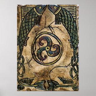 Celt Fish Print