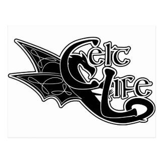 Celt Life Dragon Postcard
