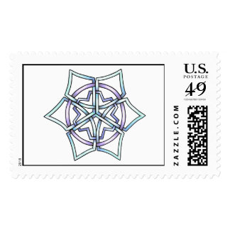 Celt Snowflake Stamp