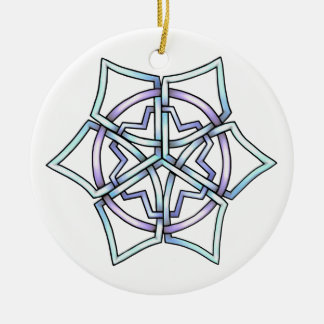 Celt Snowflake Tree Ornament