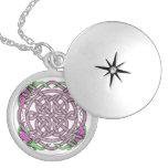 Celtic 13 locket necklace