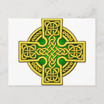Celtic 4 way gold and green