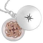 celtic 7 silver plated necklace
