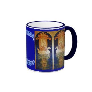"""Celtic """"Aberlemno"""" Horses Mug"""