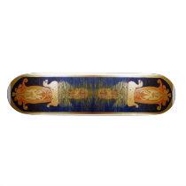 Celtic `Aberlemno' Horses Skateboard