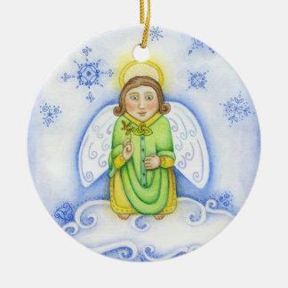 """Celtic Angel Dude"" Ornament"