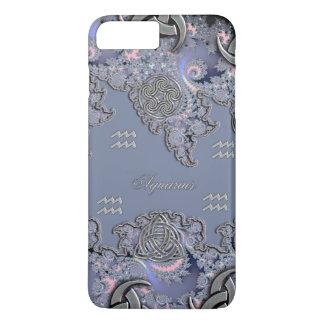 Celtic Aquarius Astrological Fractal iPhone 7 Case