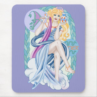 Celtic Aquarius Mouse Pad