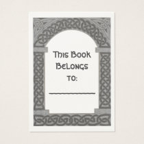 Celtic Archway bookplate