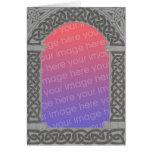 Celtic Archway Frame card 2