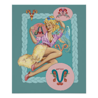 celtic aries poster