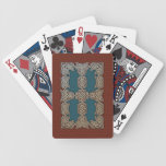 Celtic Art Border Playing Cards (Blue/Brown)