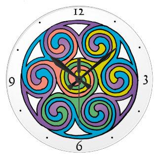 Celtic Art Clock