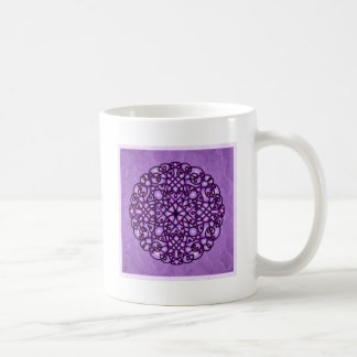 Celtic Art Curlz - Lavender Moonglow Classic White Coffee Mug