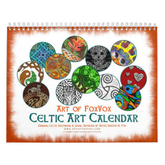 Celtic Art Designs Wall Calendar