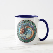 Celtic Art  Dragon Mug