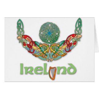 Celtic Art Irish Torc Card