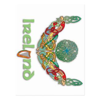 Celtic Art Irish Torc Postcard