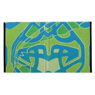 celtic art nouveau pattern abstract design iPad folio covers