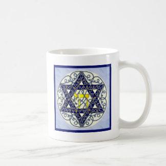 Celtic Art Star of David Classic White Coffee Mug