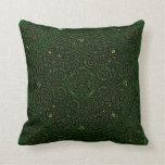celtic art throw pillow
