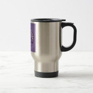 Celtic Art Trinity Knot Lavender Mugs