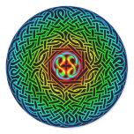 Celtic Artemus Knot Classic Round Sticker