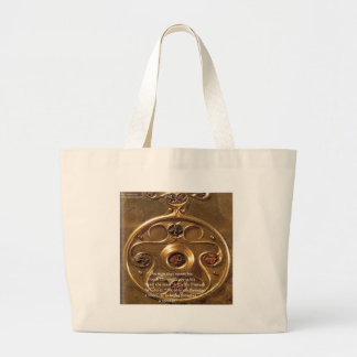 Celtic Artifact & Proverb Gifts & Cards Large Tote Bag