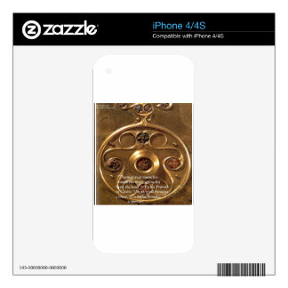 Celtic Artifact & Proverb Gifts & Cards Skin For The iPhone 4