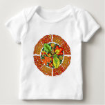 Celtic Autumn Leaves Baby T-Shirt