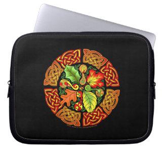 Celtic Autumn Leaves Laptop Bag Laptop Computer Sleeves
