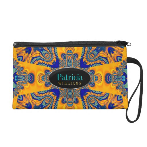 Celtic Batik Unique Design Wristlet Bags