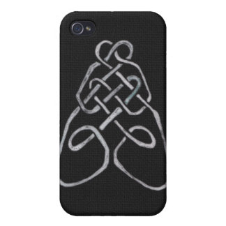 Celtic Bee Knot Cover For iPhone 4