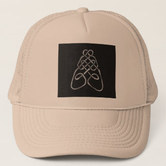 Celtic Bee Knot Trucker Hat