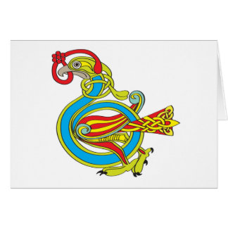 Celtic Bird Greeting Card