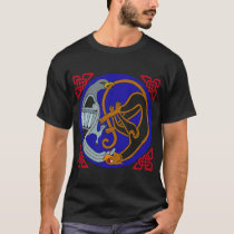 Celtic Bird & Cat T-Shirt