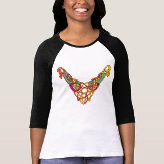 Celtic bird necklace T-Shirt
