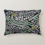 Celtic Birds 3D Foil Decorative Pillow