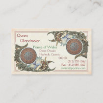 Celtic Birds Design Business Cards