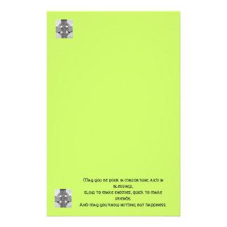 Celtic Blessing Stationery Paper