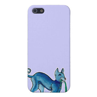 Celtic Blue Dog Cover For iPhone 5